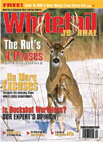 Subscribe NOW to Whitetail Journal Magazine - Click Me!